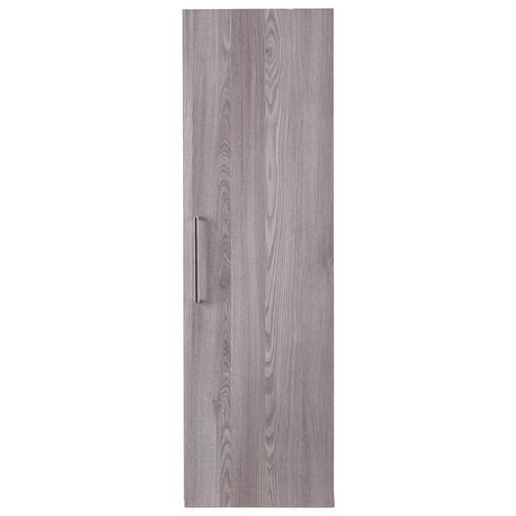 Hängeelement in Lärchefarben - Silberfarben, MODERN, Holzwerkstoff/Kunststoff (35/116/35cm) - Premium Living
