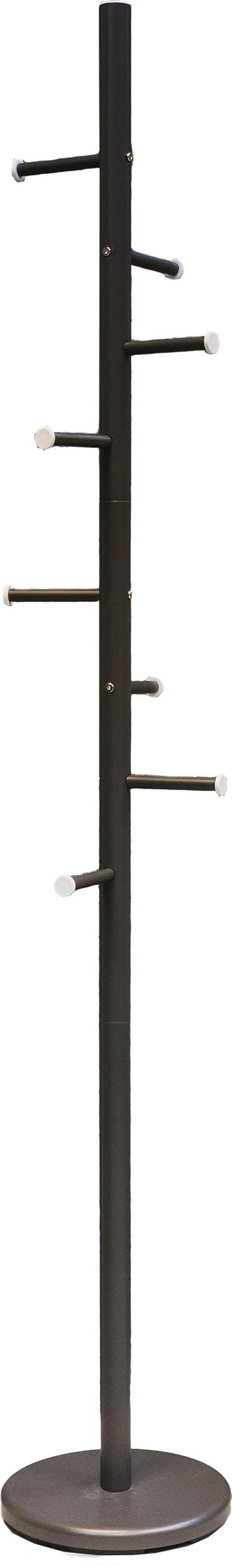 Samostoječ Obešalnik Aguero - antracit, kovina - Mömax modern living