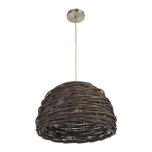 Pendelleuchte Charlotte - Grau/Nickelfarben, MODERN, Metall (40/40/120cm) - Mömax modern living