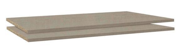 Set Polic Dodatki - leseni material (43/1,6/48cm) - Modern Living