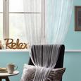 Perdea Din Franjuri Promotion  -based- -top- - Alb, Konventionell, Material textil (90/200cm) - Based