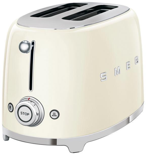 Toaster Smeg Tsf02creu Creme - Creme (31/19,8/19,5cm) - SMEG