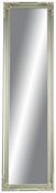 Standspiegel Silberfarben - Silberfarben, MODERN, Glas/Holz (45/170/5cm) - Mömax modern living