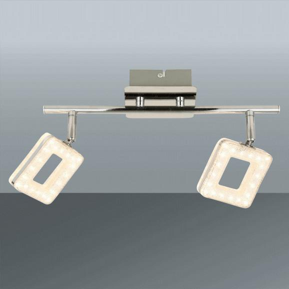 Led-reflektor Nanni - krom, Romantika, kovina/umetna masa (34/18/cm) - Premium Living
