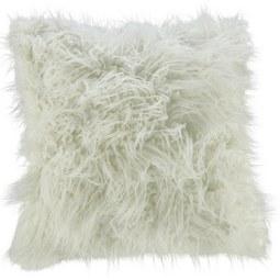 Kissen in Weiss 'Svea' ca. 45x45cm - Weiß, Textil (45/45cm) - Bessagi Home