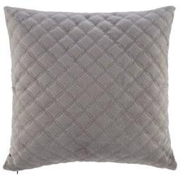 Kissen in Grau 'Rebekka' ca. 43x43 cm - Grau, MODERN, Textil (43/43cm) - Bessagi Home