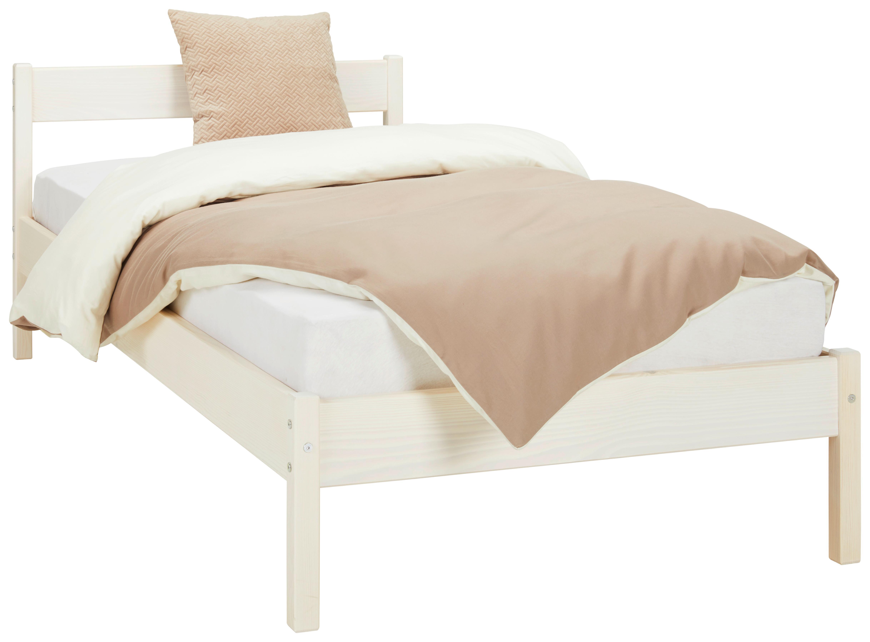 Image of Bett aus Massiv Holz ca. 90x200cm