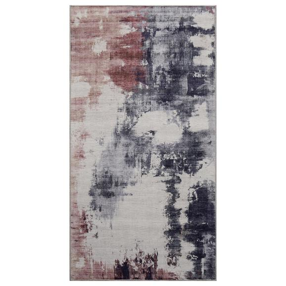 Covor Țesut Siena - roz/gri, textil (80/150cm) - Modern Living
