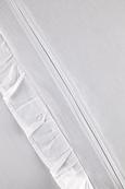 Ágyneműhuzat-garnitúra Fodorral - Fehér, romantikus/Landhaus, Textil (140/200cm) - Zandiara