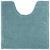 WC-Vorleger Nelly ca. 50x50cm - Hellblau, Textil (50/50cm) - Mömax modern living