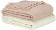 Kuscheldecke Weiß 130x170cm - Weiß, ROMANTIK / LANDHAUS, Textil (130/170cm) - Mömax modern living