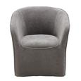 Fotelj Steffen - siva/rjava, Moderno, leseni material/tekstil (72/77/72cm) - Mömax modern living