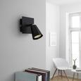 LED-Strahler max. 3 Watt 'Ingo' - Schwarz, MODERN, Metall (10/10/12cm) - Bessagi Home