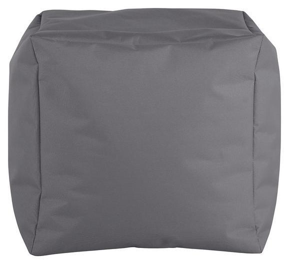 Tabure Cube S-sb- - siva, Moderno, tekstil (40/40/40cm) - Mömax modern living