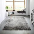 Webteppich Manchester ca. 120x170cm - Grau, MODERN, Textil (120/170cm) - Mömax modern living
