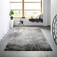 Webteppich Manchester ca. 160x230cm - Grau, MODERN, Textil (160/230cm) - Mömax modern living