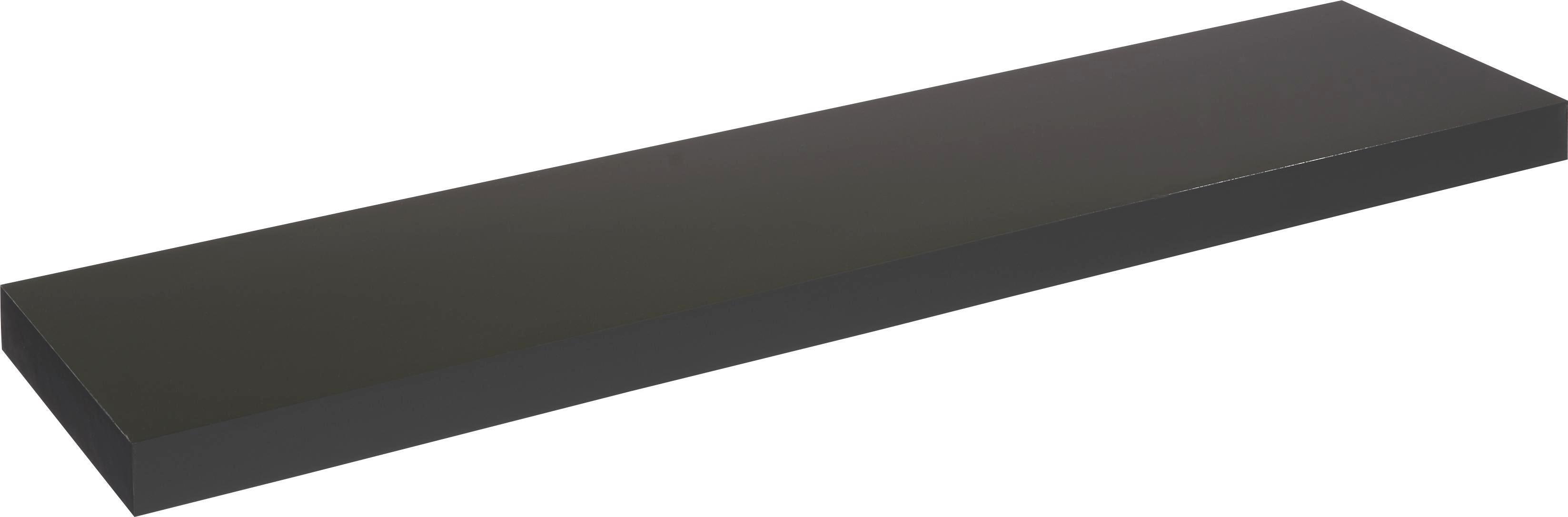 Wandboard in Schwarz - Schwarz, Holzwerkstoff (100/4,5/24cm) - MÖMAX modern living