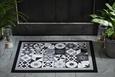 Predpražnik Mosaik 1 - temno siva/bela, Moderno, tekstil (40/60cm) - Mömax modern living