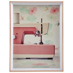 Bilderrahmen Mara Rosa - Rosa, Kunststoff (16,1/21,2/1,8cm) - Modern Living