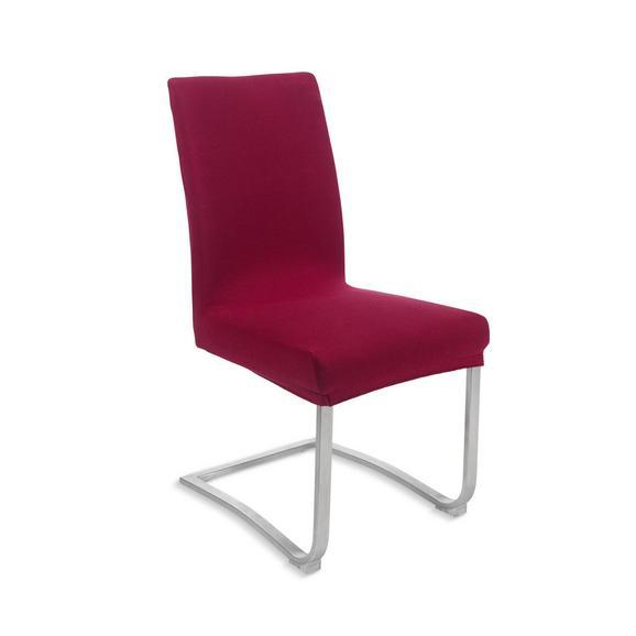 Stuhlhusse Dominik Rot - Rot, Textil (48/64/48cm) - Mömax modern living