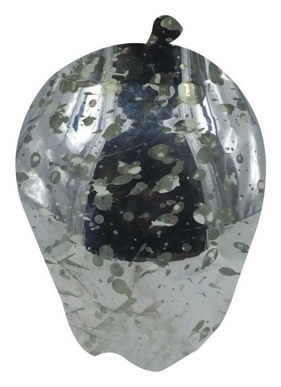 LED-Dekoleuchte Apfel, Max. 0,13 Watt - Chromfarben, Kunststoff (10,45/14,53cm) - Mömax modern living