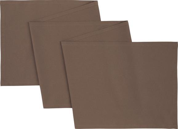 Dolg Nadprt Steffi - sivo rjava, tekstil (45/240cm) - Mömax modern living