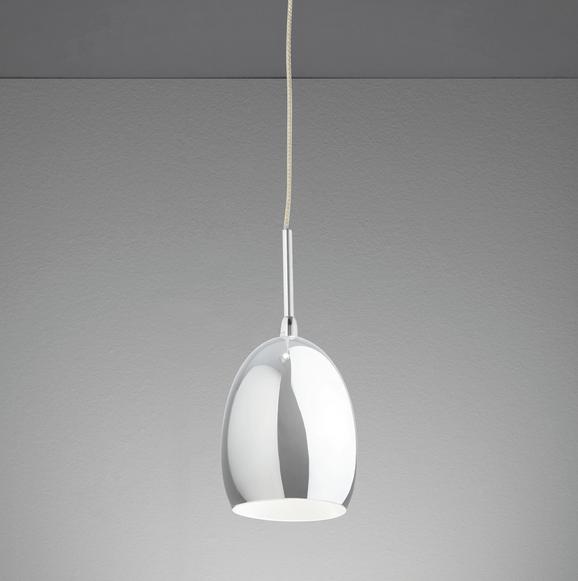 LED-Hängeleuchte Leonita - Chromfarben, MODERN, Metall (7,5/7,5/120cm) - MÖMAX modern living