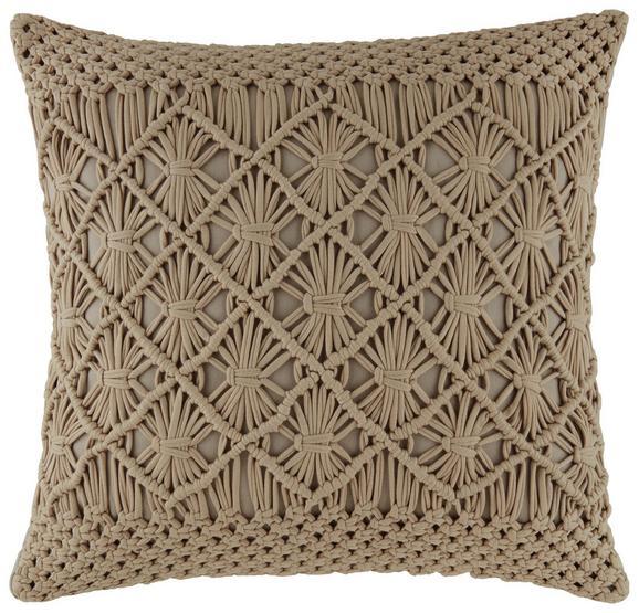 Zierkissen Grace in Beige, ca. 45x45cm - Beige, MODERN, Textil (45/45cm) - Mömax modern living
