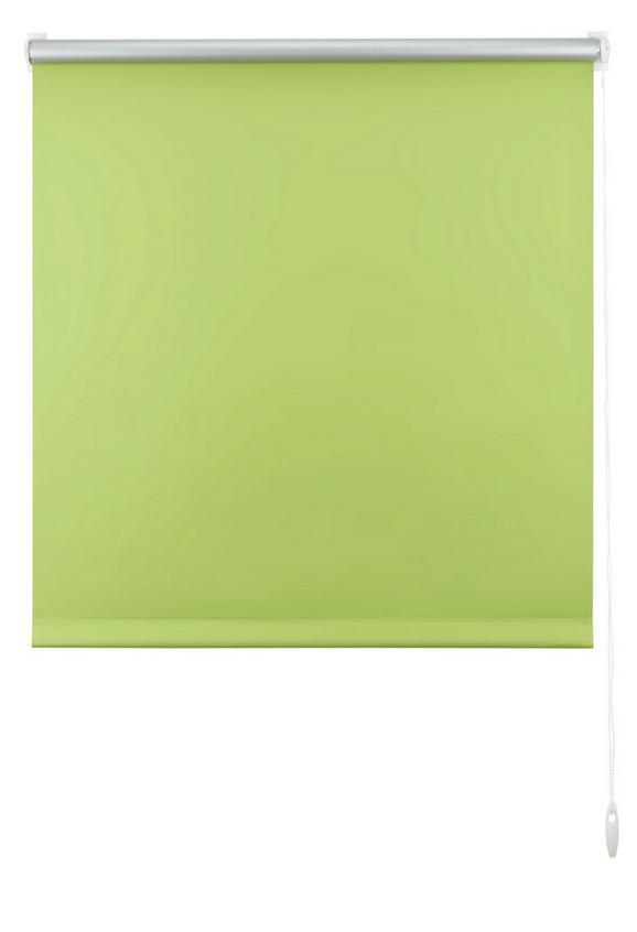 Klemmrollo Thermo in Grün, ca. 75x150cm - Grün, Textil (75/150cm) - Mömax modern living