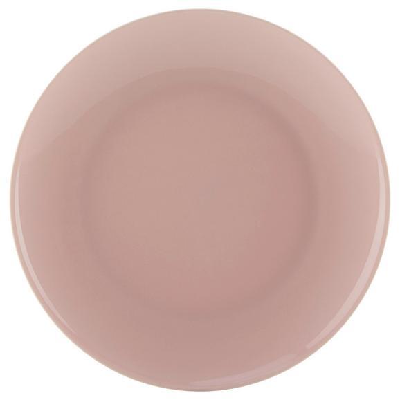 Farfurie Pentru Desert Sandy - roz, Konventionell, ceramică (20,4/1,8cm) - Modern Living