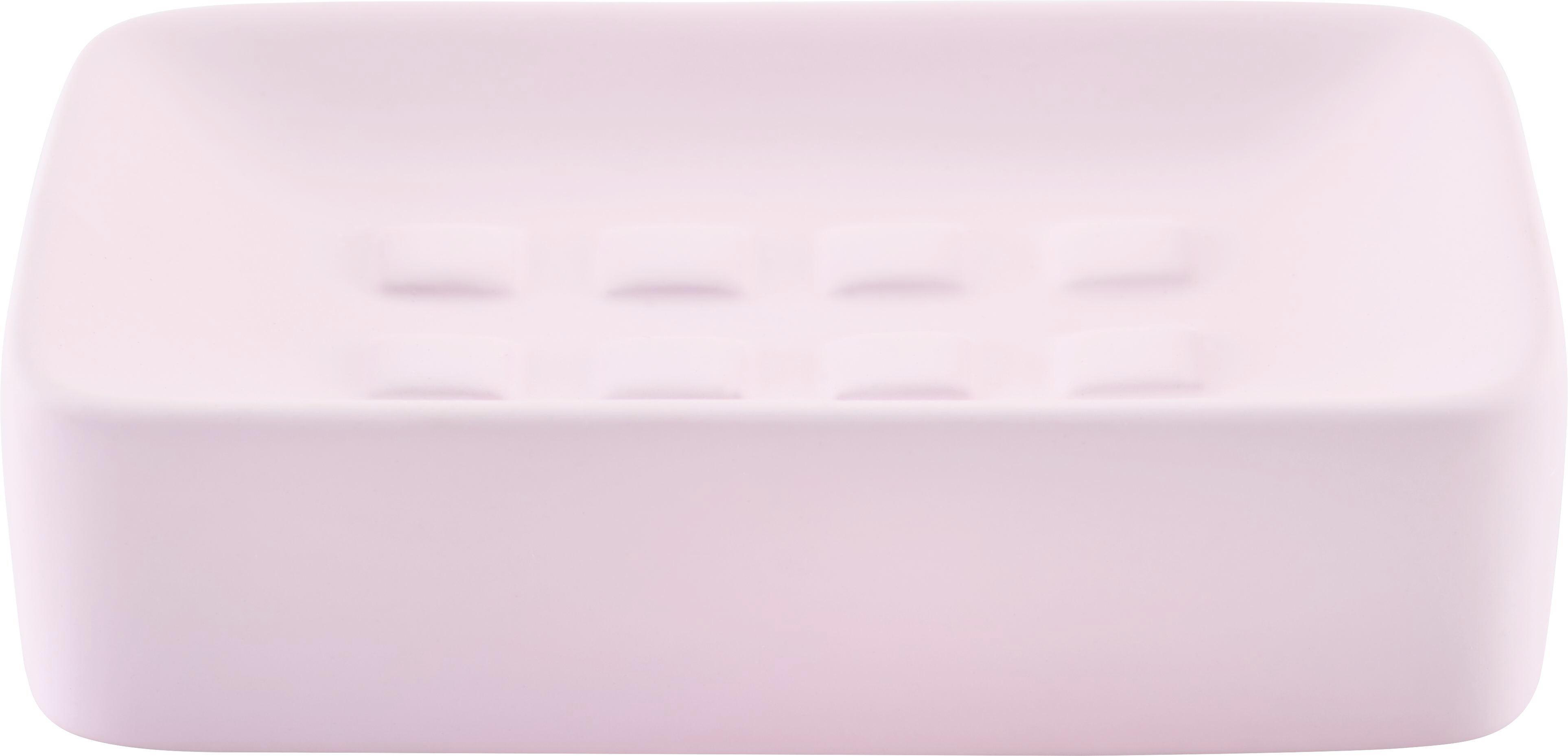Szappantartó Melanie - rózsaszín, kerámia (8,3/12,5cm) - MÖMAX modern living