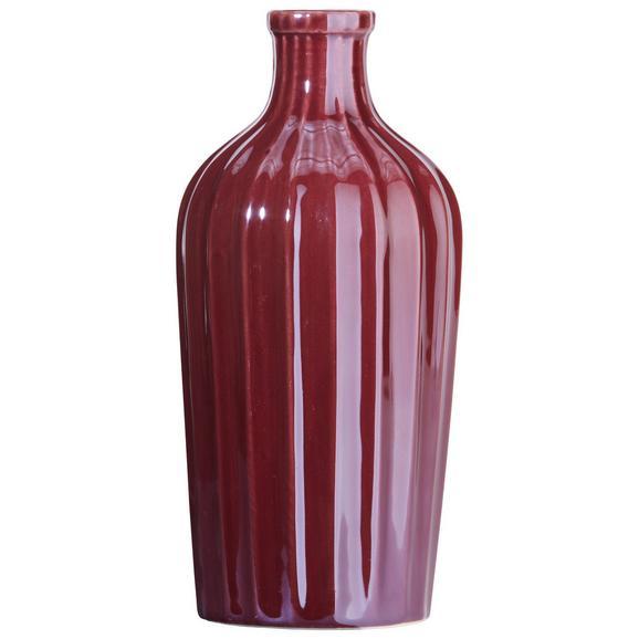 Vase Belinda aus Steinzeug - Violett, Keramik (9,3/19,5cm) - Mömax modern living