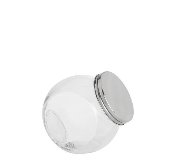 Fűszertartó Üveg Antonius - Nemesacél/Átlátszó, Üveg/Fém (12/8,7/12,5cm) - Mömax modern living