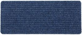 Predpražnik Mona - modra/siva, Konvencionalno, tekstil (25/60cm) - Mömax modern living