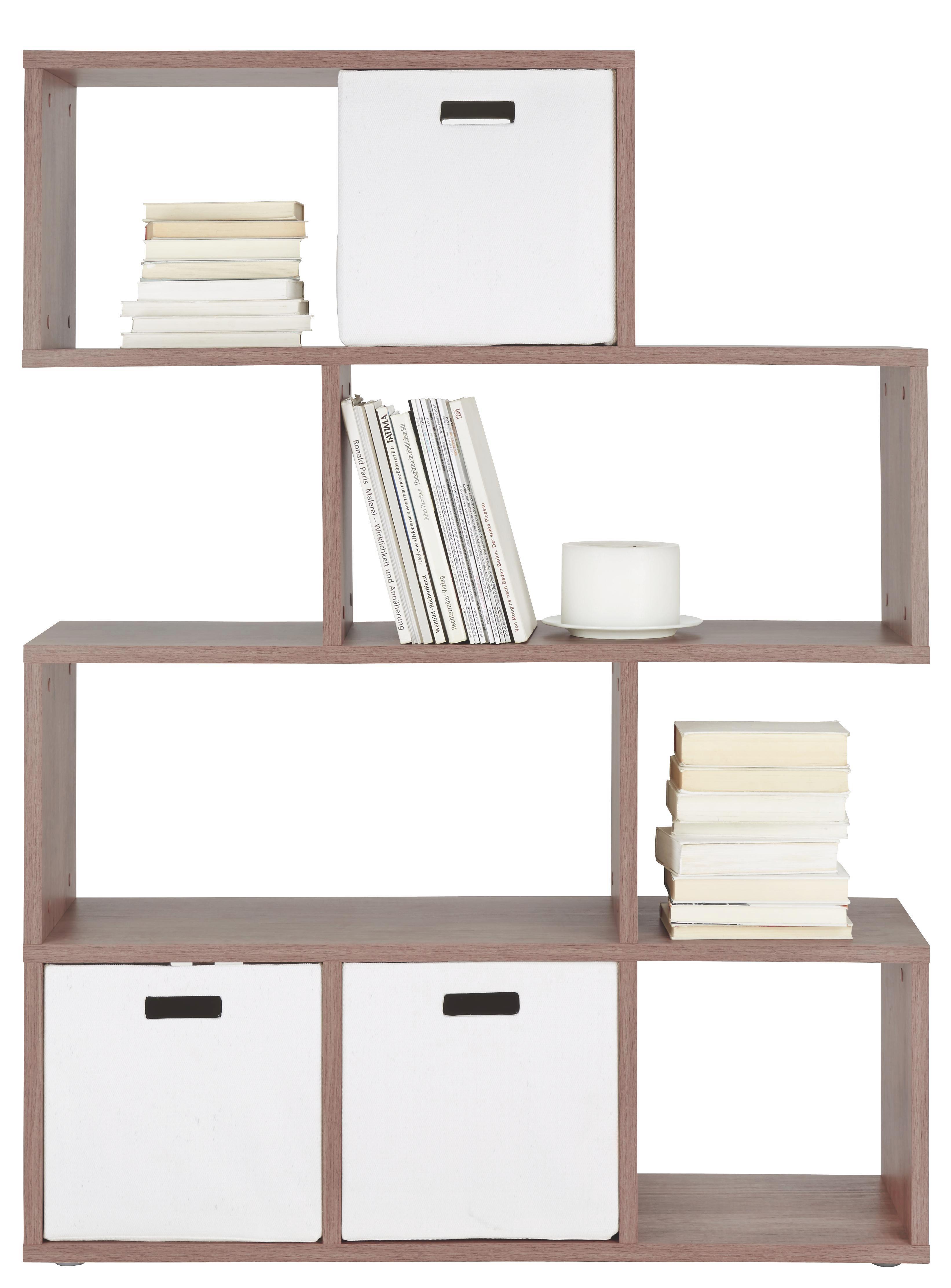 Raumteiler in Eiche - Eichefarben, Holzwerkstoff/Kunststoff (110/148/33cm) - MÖMAX modern living