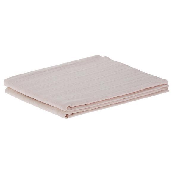 Überwurf Solid One, ca. 140x210cm - Altrosa, Textil (140/210cm)