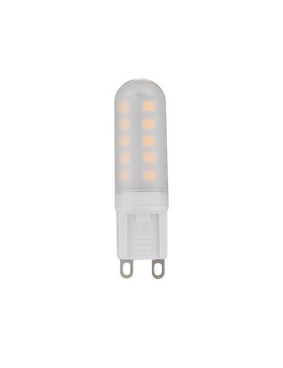 LED-Leuchtmittel 10677, 3 Watt - Weiß, Kunststoff/Metall (1,6/5,5cm)