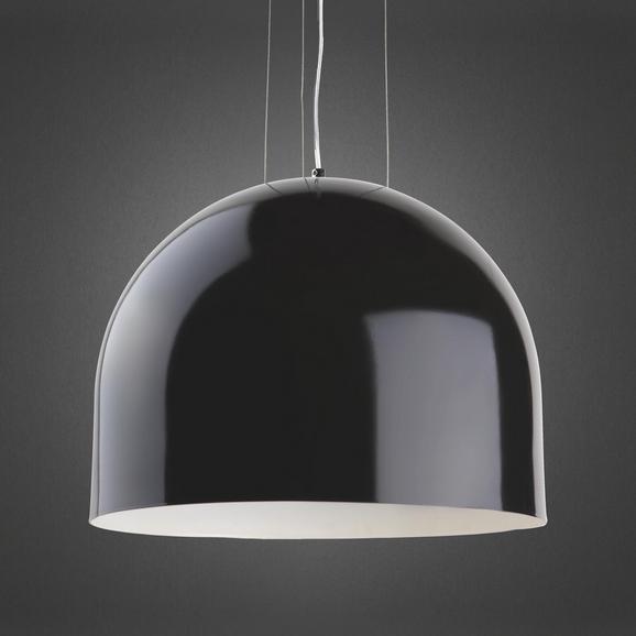 Pendelleuchte Emil - Schwarz, MODERN, Metall (40/45cm) - Premium Living