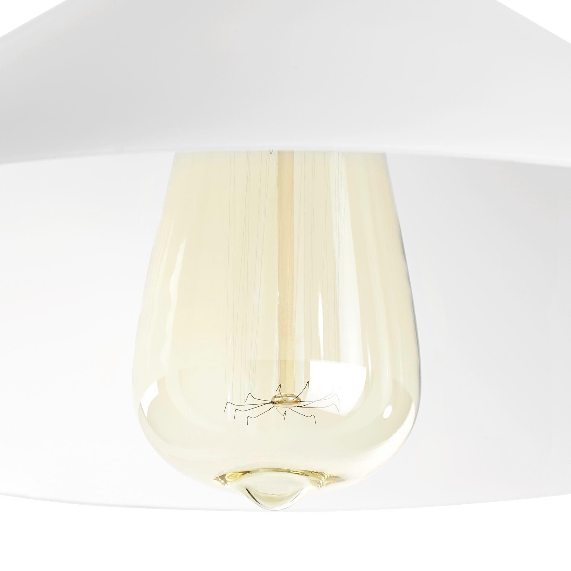 Hängeleuchte Maddie - KONVENTIONELL, Glas/Metall (30/123cm)