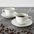 Vivo Kaffeeset aus Porzellan 4-teilig ''Hot Basics'' - KONVENTIONELL, Keramik - Vivo