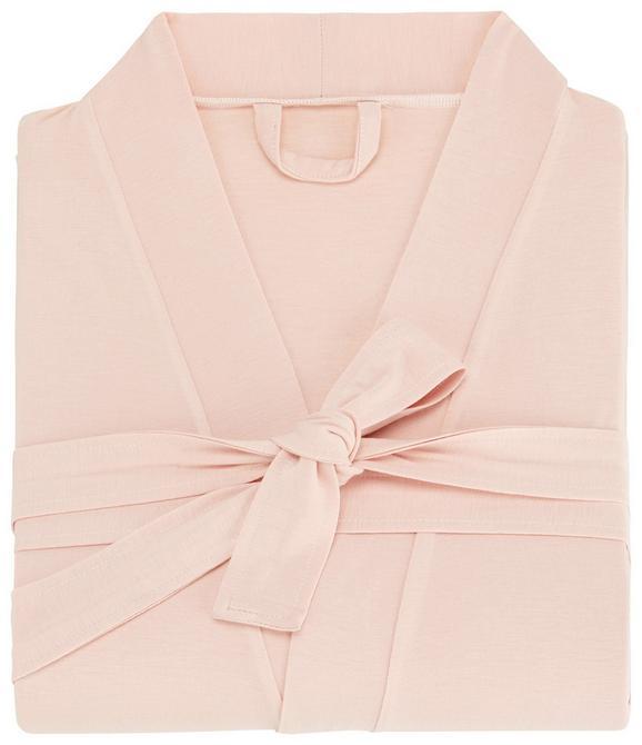 Kupaonski Ogrtač Victoria In Rosa, Xl - roza, tekstil (XL, XXL) - Premium Living