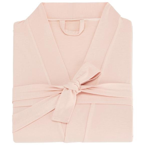 Morgenmantel Victoria Rosa S/M/L - Rosa, Textil (S/M/Lnull) - Premium Living