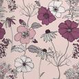 Bettwäsche Poppy in Rosa ca. 140x200cm - Rosa, ROMANTIK / LANDHAUS, Textil (140/200cm) - Mömax modern living