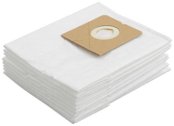 Porszívózsák Malik - Fehér, Textil
