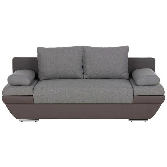 schlafsofa grau mit bettkasten online kaufen m max. Black Bedroom Furniture Sets. Home Design Ideas