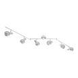 Proiector Rolli - gri, Lifestyle, sticlă/metal (150cm) - Premium Living