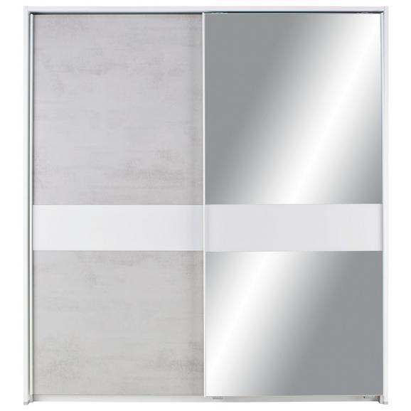 schwebet renschrank beton wei spiegel ohne ppt online kaufen m max. Black Bedroom Furniture Sets. Home Design Ideas