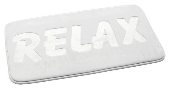 Badematte Relax Weiß - Weiß, MODERN, Textil (50/80cm) - Mömax modern living