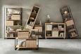 Raumteiler Eichefarben - Eichefarben, Holzwerkstoff/Kunststoff (44/191/35cm) - Mömax modern living
