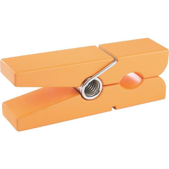 WANDHALTER GAMS Orange - Orange, Holz (20/5/7,5cm) - Mömax modern living